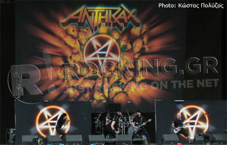 Anthrax, Download Festival, U.K., 10/06/12