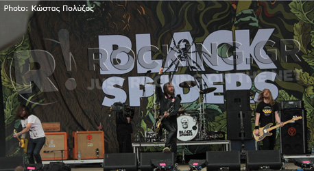Black Spiders, Download Festival, U.K., 10/06/12