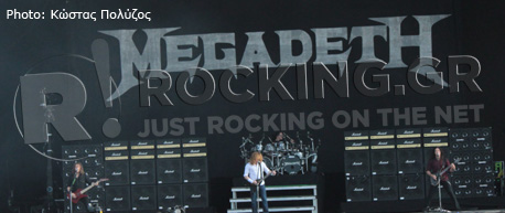 Megadeth, Download Festival, U.K., 10/06/12