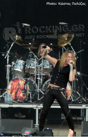 Sebastian Bach, Download Festival, U.K., 10/06/12