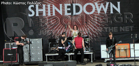 Shinedown, Download Festival, U.K., 10/06/12