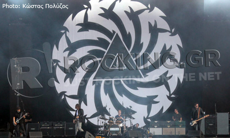 Soundgarden, Download Festival, U.K., 10/06/12