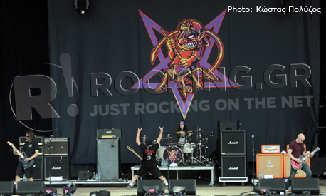 Ugly Kid Joe, Download Festival, U.K., 10/06/12