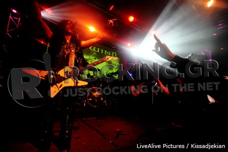 Firewind, Athens, Greece, 20-21/12/12