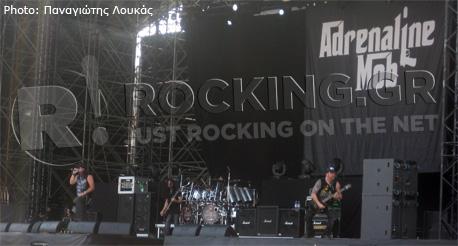 Adrenaline Mob, Arena Fiera, Milano, 21/06/12