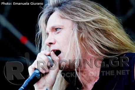 Sebastian Bach, Arena Fiera, Milano, 22/06/12