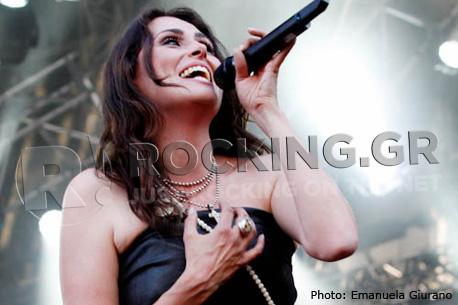 Within Temptation, Arena Fiera, Milano, 22/06/12