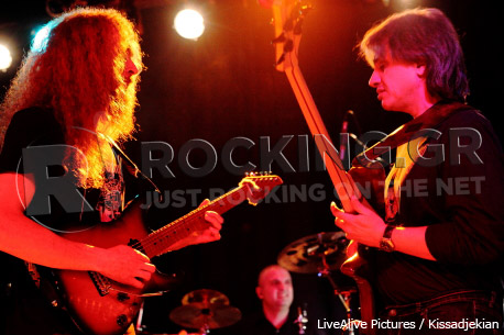 Guthrie Govan feat. YFG, Athens, Greece, 17/02/2012