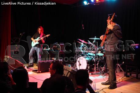 Scott Henderson, Jeff Berlin, Dennis Chambers, Athens, Greece, 19/10/12
