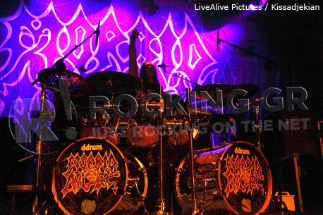 Morbid Angel, Athens, Greece, 16/11/12