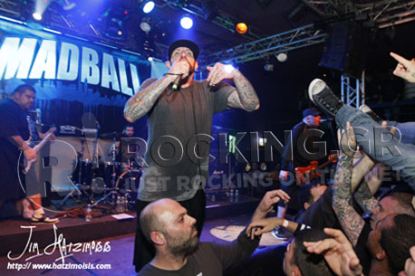 Madball, Athens, Greece, 17/11/12
