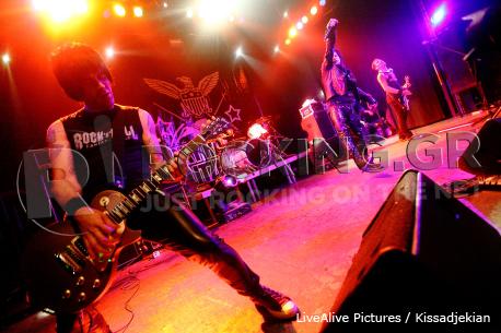 Marky Ramone's Blitzkrieg, Athens, Greece, 07/04/12