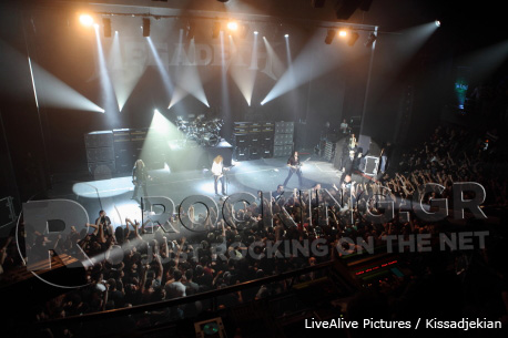 Megadeth, Athens, Greece, 20/06/12