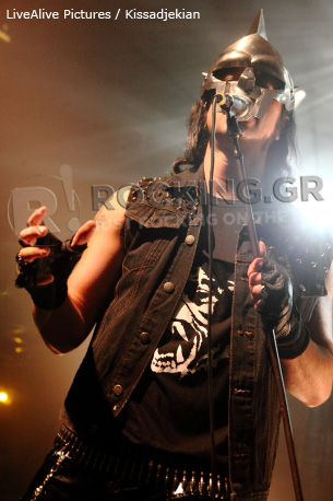 Moonspell, Athens, Greece, 29/09/12
