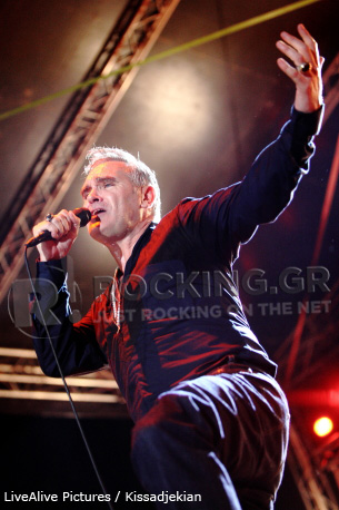 Morrissey, Athens, Greece, 16/07/12