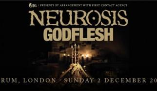 Neurosis, Godflesh @ HMV Forum (Kentish Town, Λονδίνο), 02/12/12
