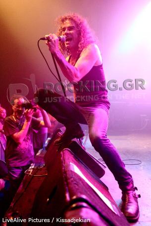 Overkill, Athens, Greece, 12/06/12