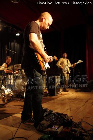 Oz Noy Trio, Athens, Greece, 12/05/12