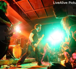 Red Fang, Lord 13, Phase Reverse @ AN Club, 22/04/12