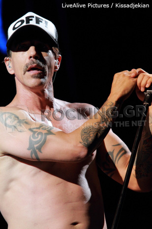 Red Hot Chili Peppers, Athens, Greece, 04/09/12