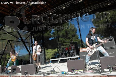 Mamma Kin @ Rockwave Festival, Athens, Greece, 30/06/12
