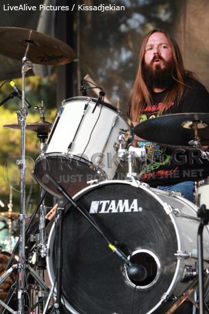 Nashville Pussy @ Rockwave Festival, Athens, Greece, 30/06/12