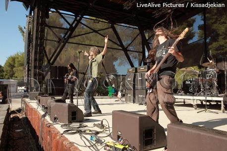 Nightstalker @ Rockwave Festival, Athens, Greece, 30/06/12