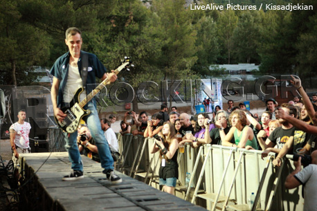 The Last Drive @ Rockwave Festival, Athens, Greece, 30/06/12