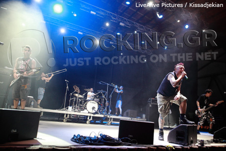 The Locos @ Rockwave Festival, Athens, Greece, 30/06/12