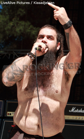 Lucky Funeral @ Rockwave Festival, Athens, Greece, 01/07/12