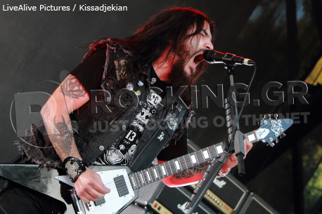 Machine Head @ Rockwave Festival, Athens, Greece, 01/07/12