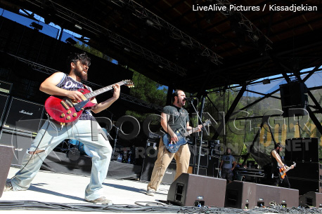 Planet Of Zeus @ Rockwave Festival, Athens, Greece, 01/07/12
