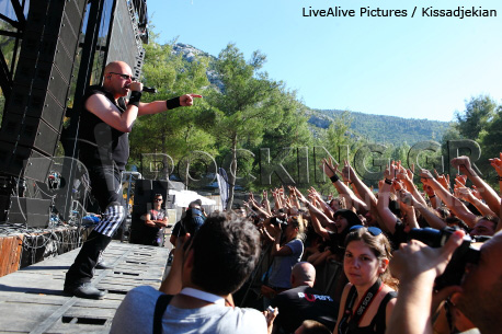 Unisonic @ Rockwave Festival, Athens, Greece, 01/07/12