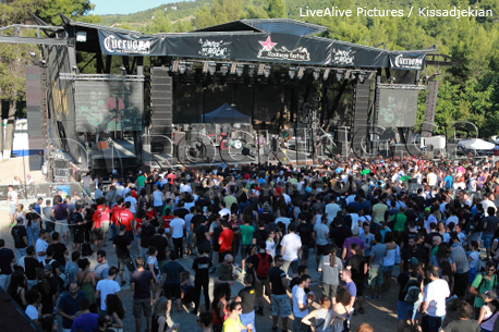 Rockwave Festival crowd, 02/07/12