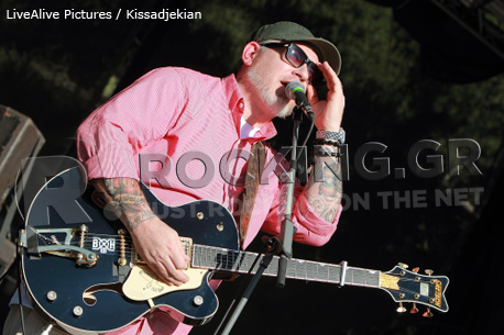 Everlast @ Rockwave Festival, Athens, Greece, 02/07/12