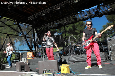 GAD. @ Rockwave Festival, Athens, Greece, 02/07/12