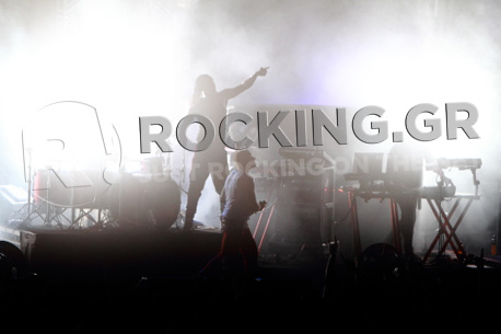 The Prodigy @ Rockwave Festival, Athens, Greece, 02/07/12