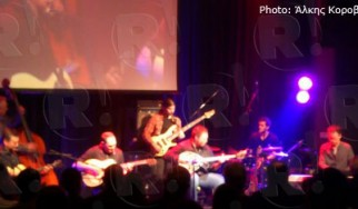 The Rosenberg Trio, Μιχάλης Παούρης @ Passport, Πειραιάς, 15/12/12