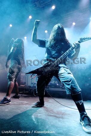 Sepultura, Athens, Greece, 02/06/12