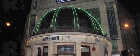 Shinedown @ O2 Brixton Academy, London, 27/10/12