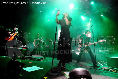 Tarja, Athens, Greece, 29/01/2012