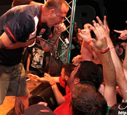 Terror, Death Before Dishonor, Take Offense, Overpain @ Κύτταρο, 21/04/12