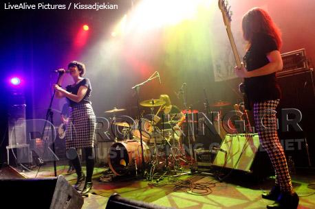 The Mongrelettes, Athens, Greece, 10/02/2012