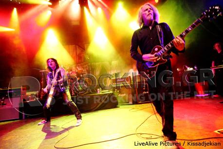 Thin Lizzy, Athens, Greece, 09/11/12