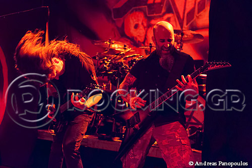Anthrax, Athens, Greece, 28/07/13