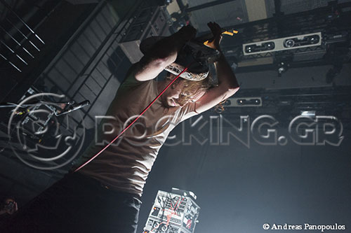 A Place To Bury Strangers, Athens, Greece, 19/10/13
