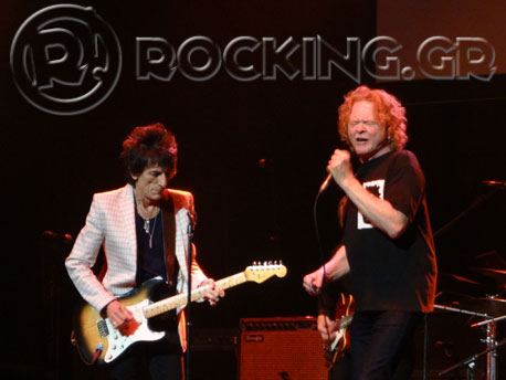 Van Morrison And Mick Hucknall's Tribute To Bobby 'Blue' Bland, London, UK, 01/11/13