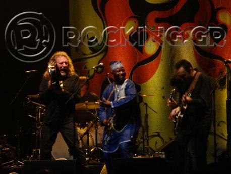Robert Plant presents The Sensational Space Shifters, London, UK, 31/10/13