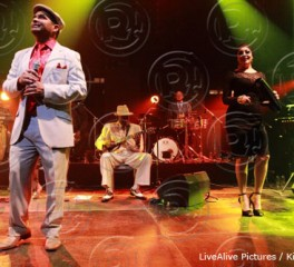 Orquesta Buena Vista Social Club (feat. Omara Portuondo & Eliades Ochoa) @ Βοτανικός Live Stage, 13/11/13