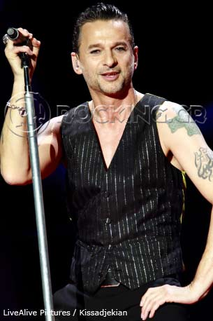 Depeche Mode, Athens, Greece, 10/05/13